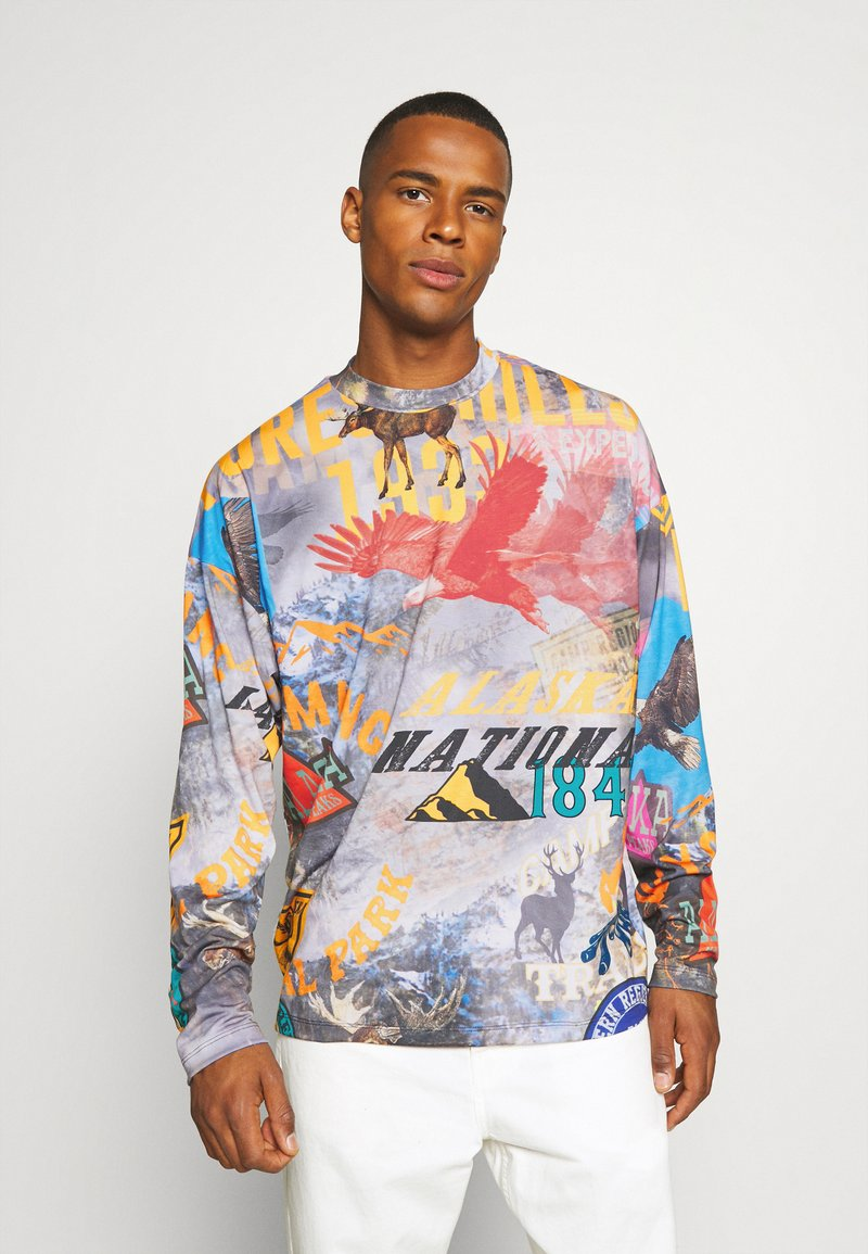 Jaded London - ALASKAN BADGES SCENE  - Long sleeved top - multi-coloured