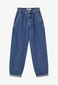 PULL&BEAR - Jeansy Relaxed Fit - blue - 6