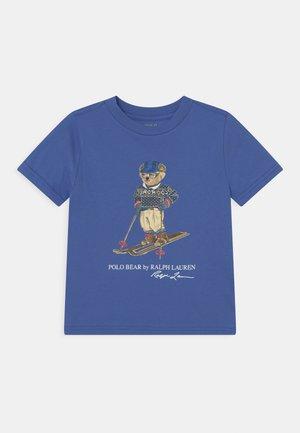 Print T-shirt - indigo sky