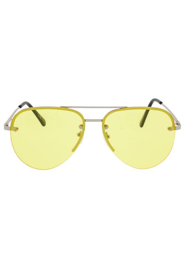 PILOT - Okulary przeciwsłoneczne - silver
