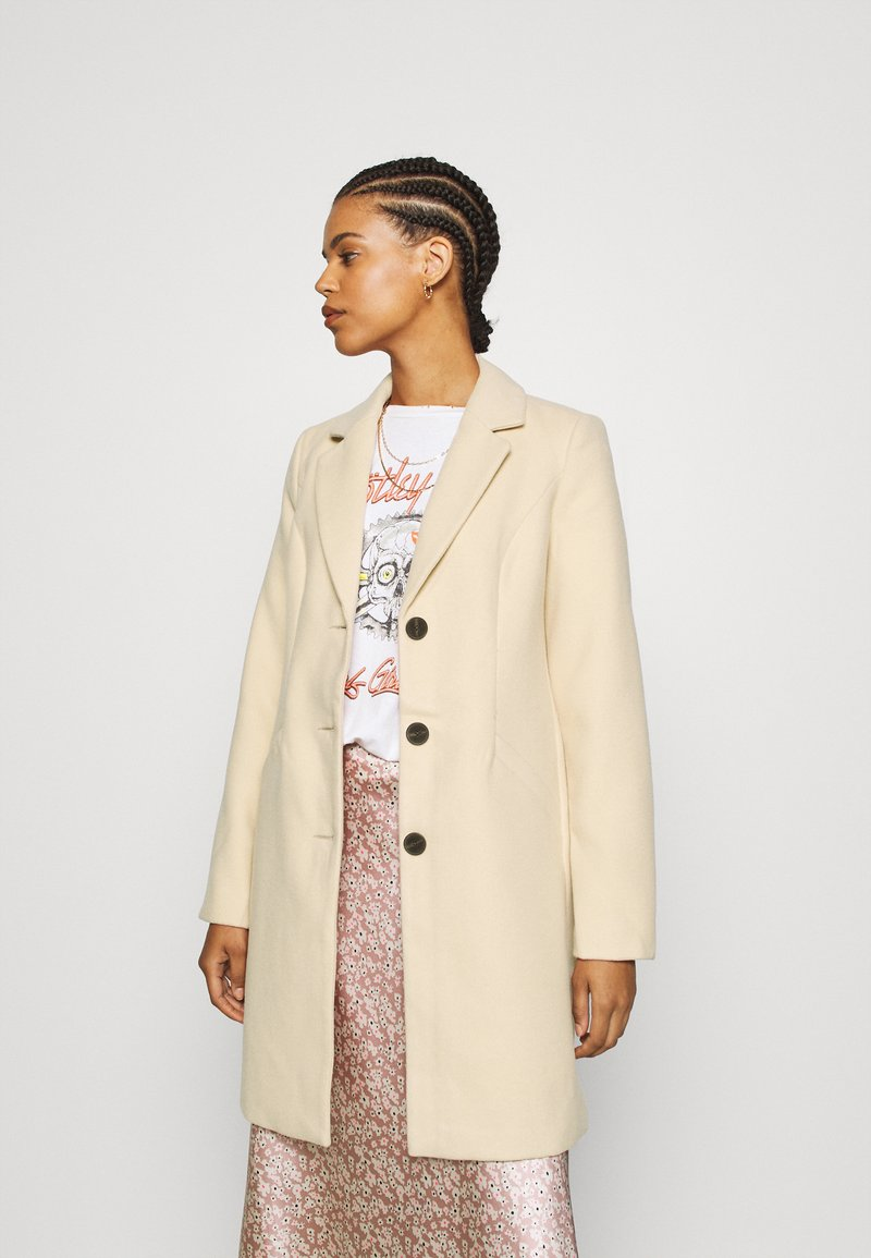 Vero Moda - VMCALACINDY - Zimní kabát - mahogany rose