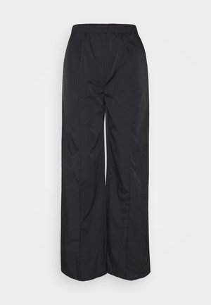STRAIGHT LEG TROUSERS - Trousers - black