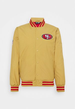 NFL SAN FRANCISCO 49ERS NFL TEAM WORDMARK - Veste de survêtement - gold