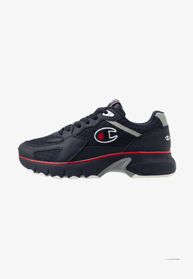 LOW CUT SHOE - Sports shoes - navy/red/grey