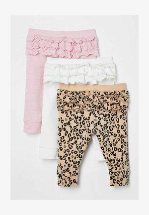 3 PACK - Leggings - Trousers - white