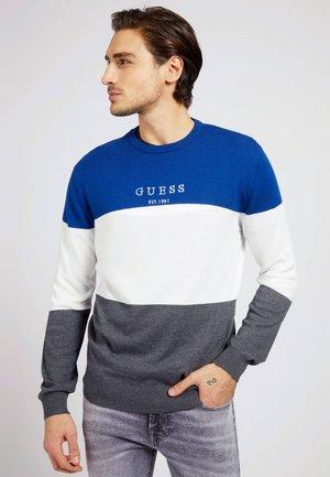 Sweatshirt - mehrfarbig, grundton blau