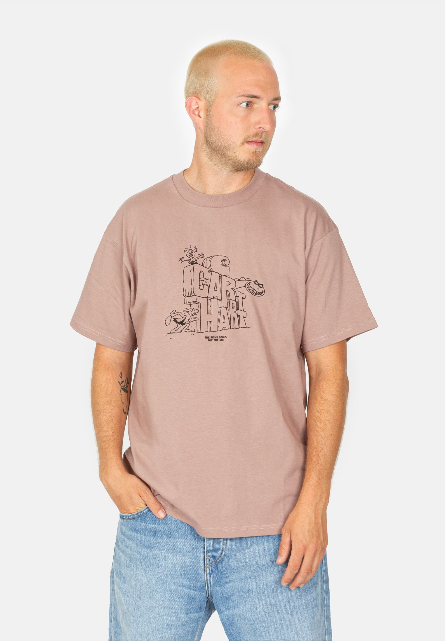 Herren STONEAGE - T-Shirt print
