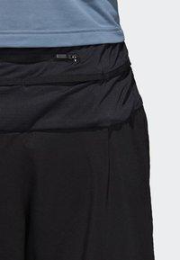 adidas Performance - TERREX TRAIL  - Pantalón corto de deporte - black - 5