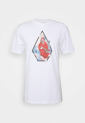 NOZAKA SURF - Print T-shirt - white