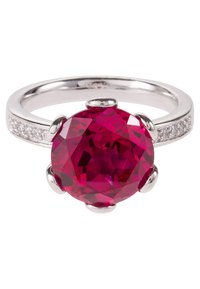 Caï - Ring - dark ruby - 2