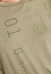 G-Star - GSRAW KNOT  - T-shirt print - hatton contour - 5
