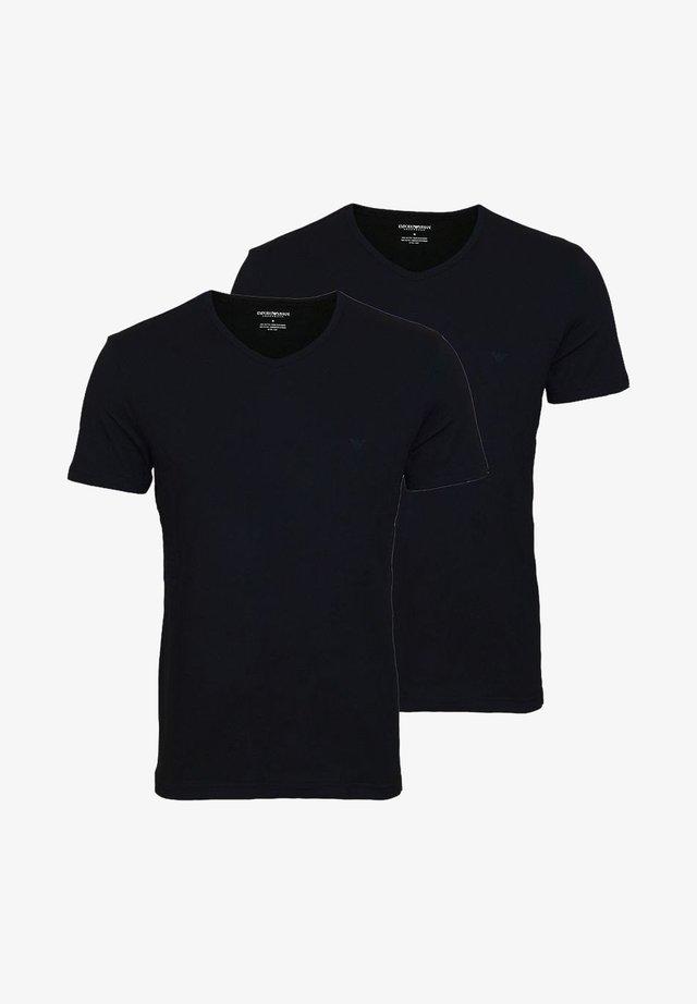 2 PACK  - T-shirt basique - black