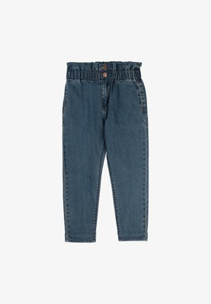 Straight leg jeans - denim indigo blue