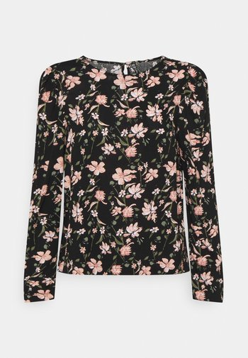 PCCARLY - Long sleeved top - black