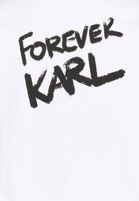 KARL LAGERFELD - FOREVER KARL  - Sweatshirt - white - 2