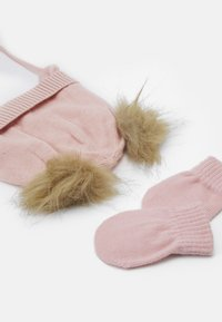 Name it - NBFMUSTA MAGIC SET - Beanie - peachskin - 2