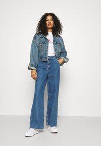 Calvin Klein Jeans - ARCHIVES TEE - Print T-shirt - bright white - 1