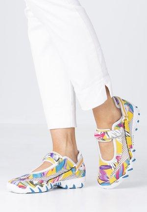 Ankle strap ballet pumps - multicolor/cloud