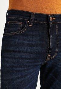 Nudie Jeans - LEAN DEAN - Jeans slim fit - dark deep worn - 3
