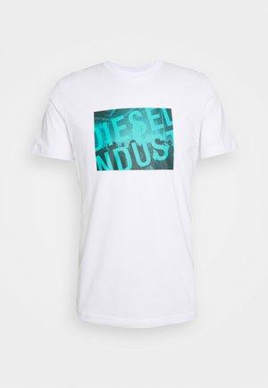 T-DIEGOS-K16 UNISEX - Print T-shirt - white