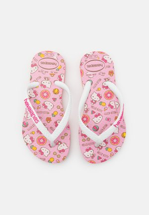 HELLO KITTY - Pool shoes - macaron pink