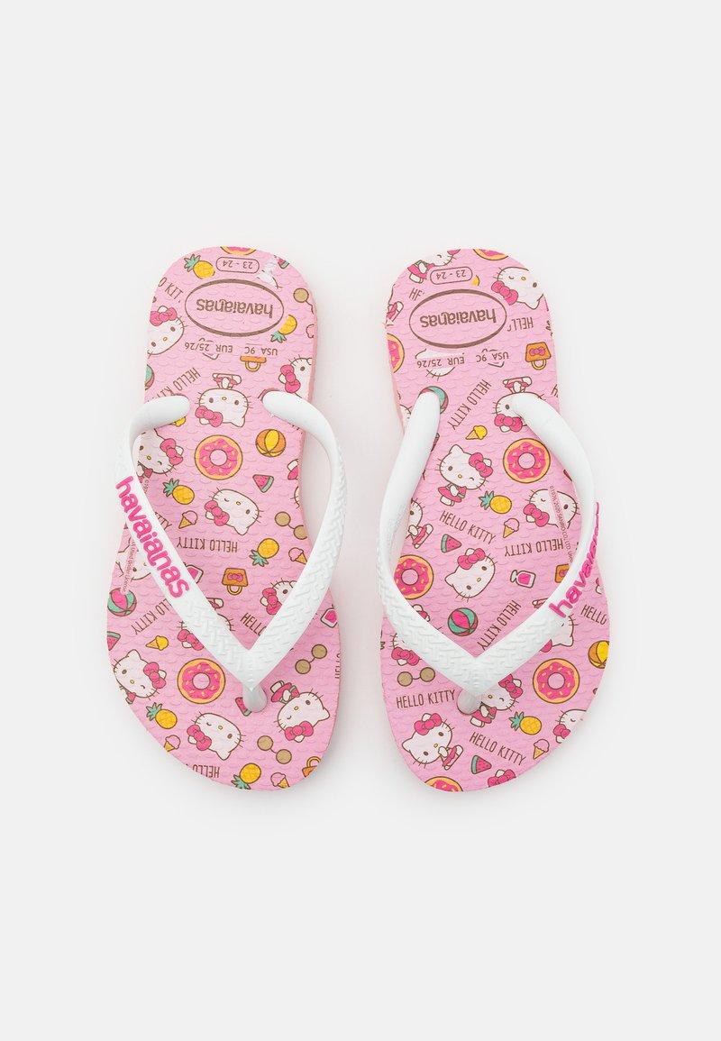 Havaianas - HELLO KITTY - Pool shoes - macaron pink