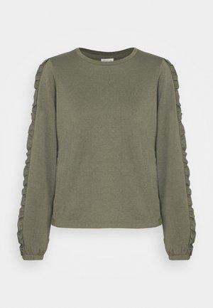 JDYPROVE FRILL - Sweatshirt - kalamata