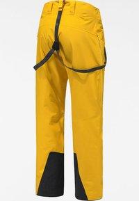 Haglöfs - LUMI LOOSE PANT - Snow pants - pumpkin yellow - 6
