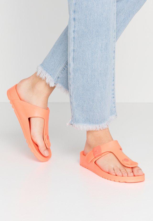 BAHIA  - Varvassandaalit - orange flou