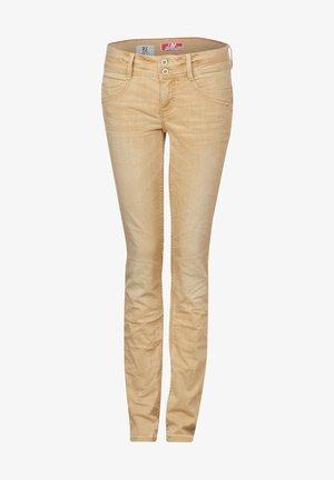 JANE - Slim fit jeans - beige