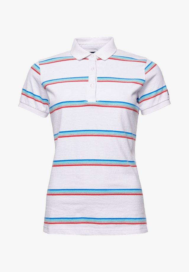 Poloshirt - varsity optic stripe