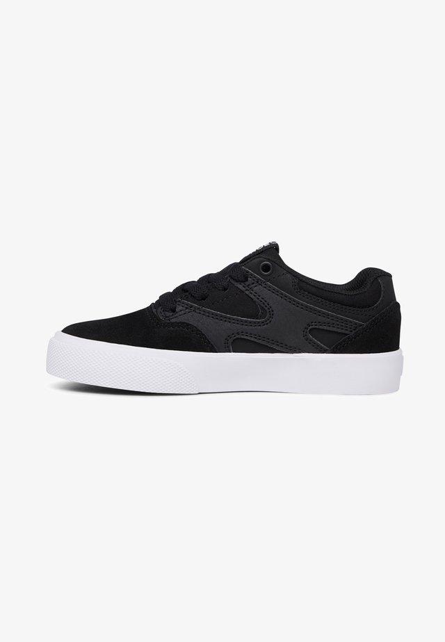 KALIS VULC - Baskets basses - black/black/white