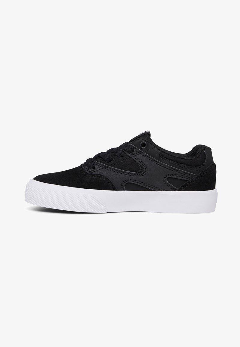 DC Shoes - KALIS VULC - Trainers - black/black/white