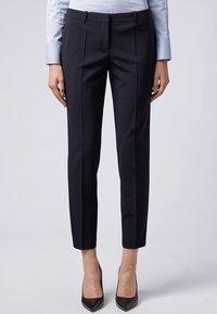 BOSS - TILUNA - Pantalon classique - marine - 0