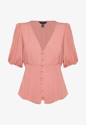 TEA BLOUSE - Bluse - mid pink