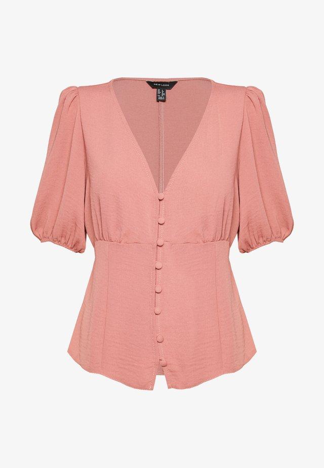 TEA BLOUSE - Camicetta - mid pink