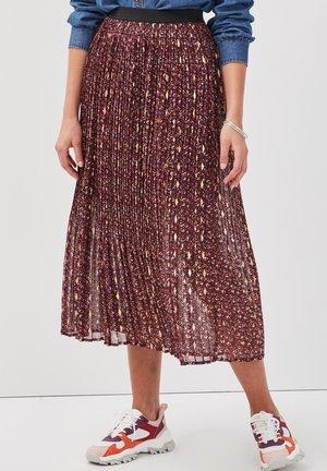 A-line skirt - rouge foncé