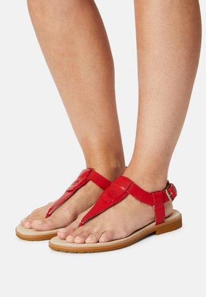 CHICAGO RIVERSIDE - T-bar sandals - red