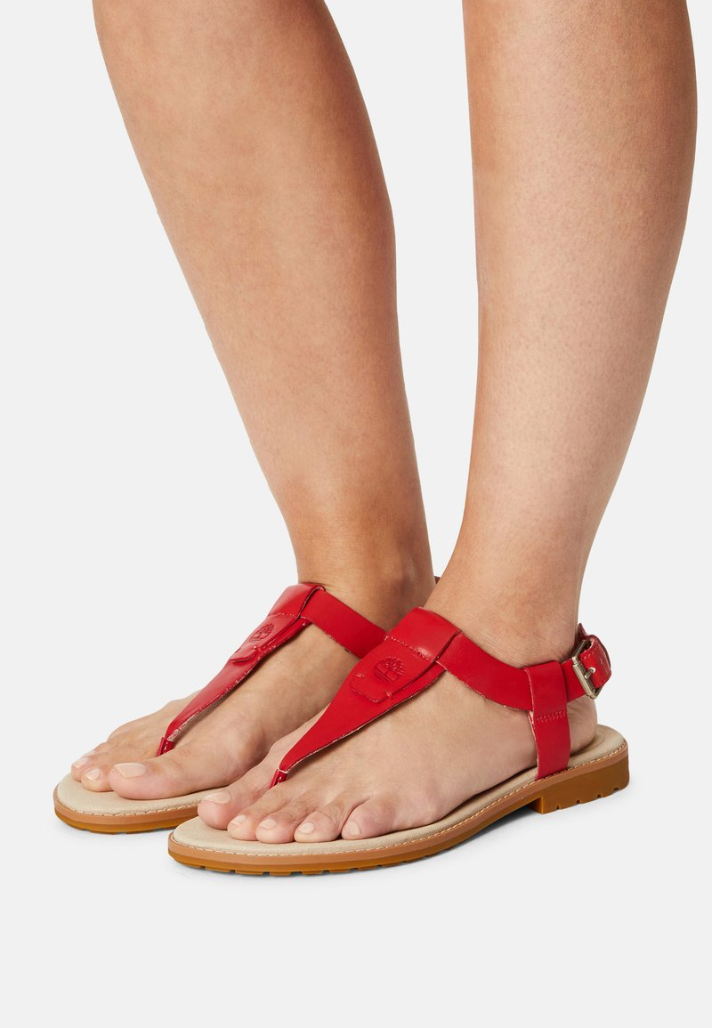 Timberland - CHICAGO RIVERSIDE - T-bar sandals - red