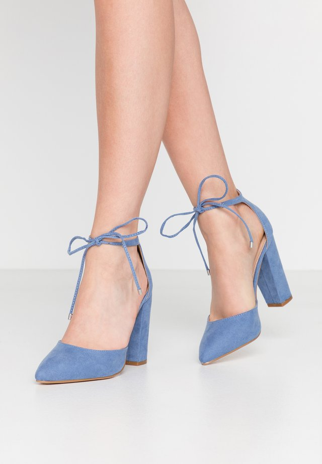 High Heel Pumps - blue