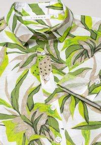Eterna - MODERN CLASSIC - Button-down blouse - grün/weiss - 3