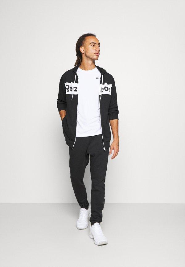 Reebok TAPE JOGGER - Spodnie treningowe - black/czarny Odzież Męska RAXP