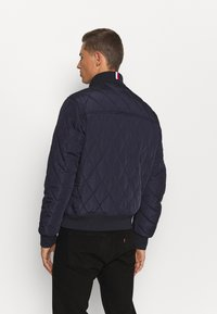 Tommy Hilfiger - DIAMOND QUILTED BOMBER - Light jacket - blue - 2
