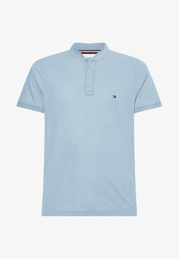 BASEBALL COLLAR SLIM  - T-shirt basic - flint blue