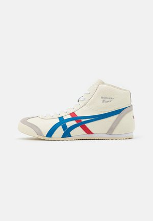 MEXICO MID RUNNER UNISEX - Sneakersy wysokie - white/blue