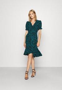 Diane von Furstenberg - ALEXIS DRESS - Day dress - medium teal - 0