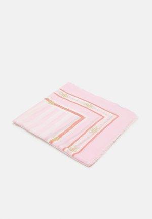 STRIPE SQUARE - Chusta - pink