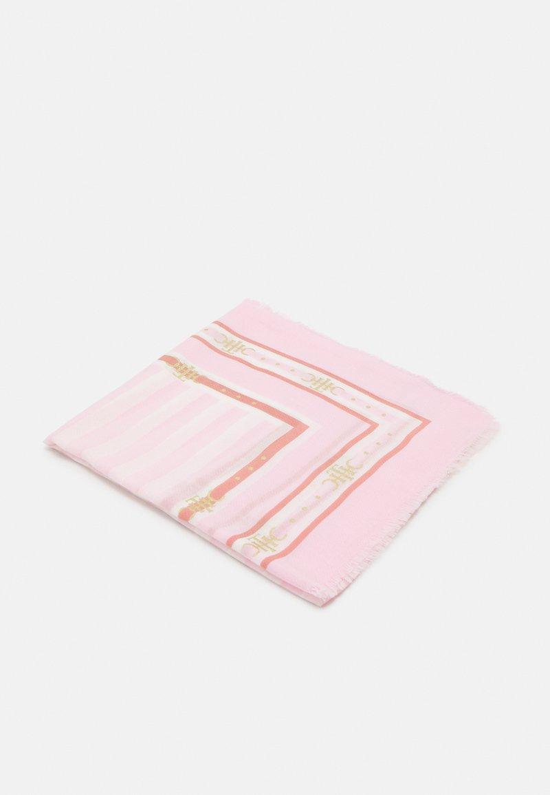 Tommy Hilfiger - STRIPE SQUARE - Huivi - pink