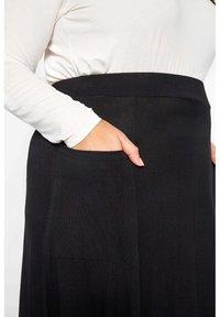 Yours Clothing - Maxi skirt - black - 2