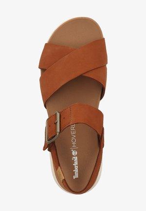 TIMBERLAND SANDALEN - Walking sandals - saddle f131